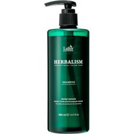 Успокаивающий шампунь для волос Lador HERBALISM SHAMPOO 400мл