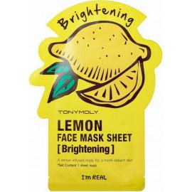 Тканевая маска Tony Moly с экстрактом лимона I`m Lemon Mask Sheet Brightening в рассрочку по Халве
