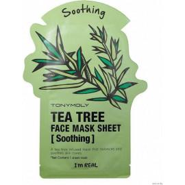 Тканевая маска Tony Moly с экстрактом чайного дерева Tonymoly I`m Tea Tree Mask Sheet Skin Soothing
