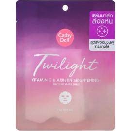 Тканевая маска для лица Cathy Doll Сумерки с витамином С и арбутином 25 гр