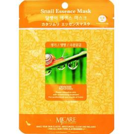 Тканевая маска для лица Mijin Essence Mask улитка l