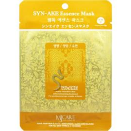 Тканевая маска для лица Mijin Essence Mask пептид змеи s