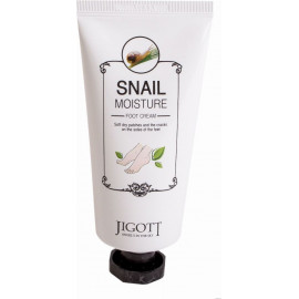 Крем для ног JIGOTT МУЦИН УЛИТКИ SNAIL MOISTURE FOOT CREAM 100 мл