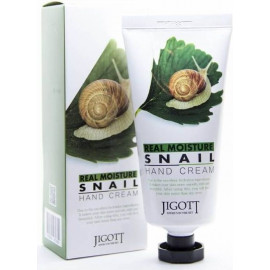 Крем для рук JIGOTT МУЦИН УЛИТКИ Real Moisture SNAIL Hand Cream 100 мл