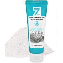 Пенка для умывания с содой May Island 7 Days Secret Baking Soda Pore Deep Cleansing Foam 150 мл