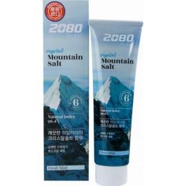 Зубная паста с гималайской солью Aekyung 2080 Crystal Mountain Salt Toothpaste (голубая) 120 гр