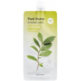 Ночная маска для лица MISSHA Pure SourceGreen Tea 10 ml