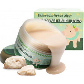 Маска д/лица желейная с коллагеном ЛИФТИНГ Elizavecca Green Piggy Collagen Jella Pack 100 мл купить