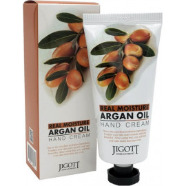 Крем для рук JIGOTT МАСЛО АРГАНЫ Real Moisture ARGAN OIL Hand Cream 100 мл