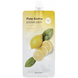Ночная маска для лица MISSHA Pure Source Lemon 10 ml в интернет магазине