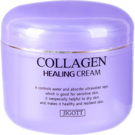Крем для лица Jigott КОЛЛАГЕН COLLAGEN Healing Cream 100 мл