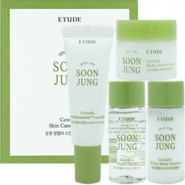 Набор миниатюр Etude House с центеллой Soon Jung Centella Skin Care Trial Kit