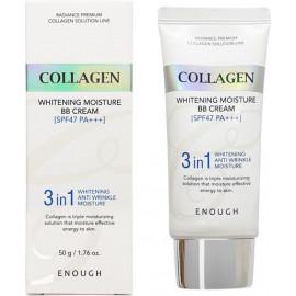 ББ-крем Enough осветляющий с экстрактом коллагена 3in1 Collagen bb cream 50 мл в рассрочку по Халве