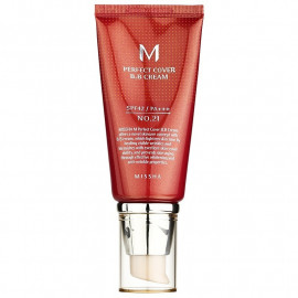 ВВ-крем MISSHA M Perfect Cover SPF42/PA+++ (No.21/Light Beige) 50ml