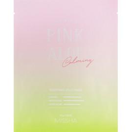 Желейная маска для лица Missha Premium Pink Aloe Soothing Jelly Mask 25 гр