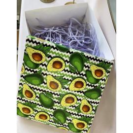 Коробка подарочная 20 см * 20 см №3 авокадо