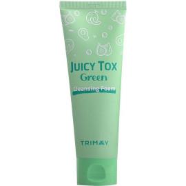 Пенка для умывания Trimay Juicy Tox Green Cleansing Foam 120 мл