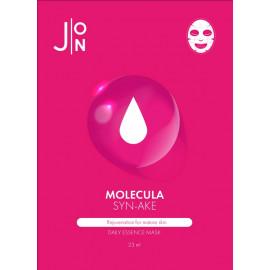 Тканевая маска для лица J:ON ЗМЕИНЫЙ ПЕПТИД MOLECULA SYN-AKE DAILY ESSENCE MASK 23 мл