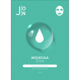 Тканевая маска для лица J:ON УЛИТОЧНЫЙ МУЦИН MOLECULA SNAIL DAILY ESSENCE MASK 23 мл в Минске