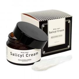Салициловый крем Elizavecca с эффектом пилинга Milky Wear Salicyl Cream