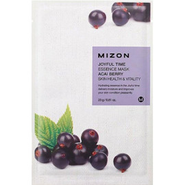 Тканевая маска для лица с экстрактом ягод асаи Mizon Joyful Time Essence Mask Acai Berry 23 гр