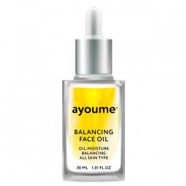 Масло для лица AYOUME восстанавливающее Balancing Face oil with Sunflower 30мл