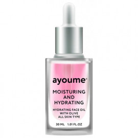 Масло для лица AYOUME увлажняющее Moisturing-&-Hydrating Face oil with Olive 30мл