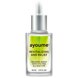 Сыворотка для лица AYOUME восстанавливающая Vita Tree Revitalizing-&-Relief serum 30мл
