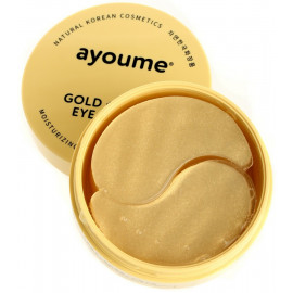 Патчи для глаз AYOUME омолаживающие с золотом и улиточным муцином