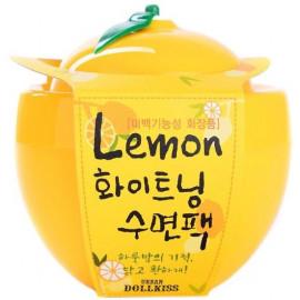 Маска ночная baviphat осветляющая лимон Lemon Whitening Sleeping Pack 100мл