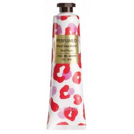 Крем-масло для рук SAEM парфюмированный увлажняющий Perfumed Shea Butter -Red Plum 30мл