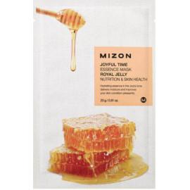 Тканевая маска для лица с экстрактом маточного молочка Mizon Joyful Time Essence Mask Royal Jelly 23 гр