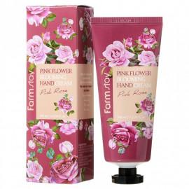 Крем для рук FarmStay с экстрактом розы 100мл
