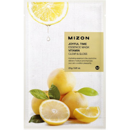 Тканевая маска для лица с витамином С Mizon Joyful Time Essence Mask Vitamin C 23 гр в Минске