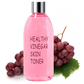 Тонер для лица REALSKIN КРАСНОЕ ВИНО Healthy vinegar skin toner (Grape wine) 300 мл