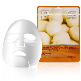 Тканевая маска для лица КАРТОФЕЛЬ 3W CLINIC Fresh Potato Mask Sheet