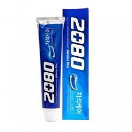 Отбеливающая зубная паста Aekyung 2080 Advance Blue Toothpaste Scrub Essence 100 гр