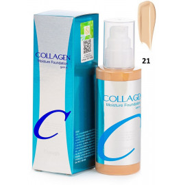 Тональная основа Enough Collagen Moisture Foundation SPF15 21 тон 100 мл
