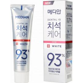 Зубная паста MEDIAN Toothpaste White 93% белая 120 гр