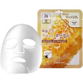 Тканевая маска для лица МАТОЧНОЕ МОЛОЧКО 3W CLINIC Fresh Royal Jelly Mask Sheet