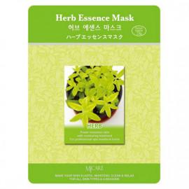 Маска тканевая для лица MIJIN Essence Mask лечебные травы