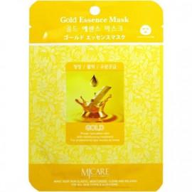 Маска тканевая для лица MIJIN Essence Mask золото