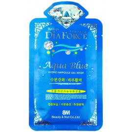 Маска гидрогелевая Rearar DiaForce Aqua Blue Hydro Ampoule Gel Mask