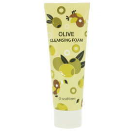 Пенка SEANTREE c оливой Olive Cleansing Foam 120 мл