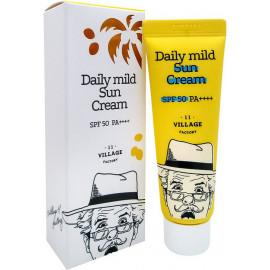 Солнцезащитный крем Village 11 Factory Daily Mild Sun cream SPF 50+ PA++++ 50 мл