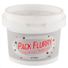 Маска-скраб для лица APIEU Pack Flurry (Cookie&Cream) 130 гр