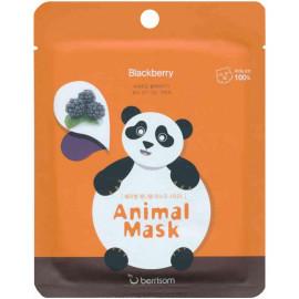 Маска тканевая baviphat экстрактом ежевики Animal mask series - Panda 25мл