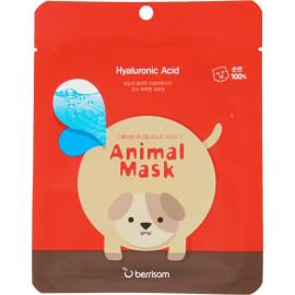 Маска тканевая baviphat с гиалуроновой кислотой Animal mask series - Dog 25мл