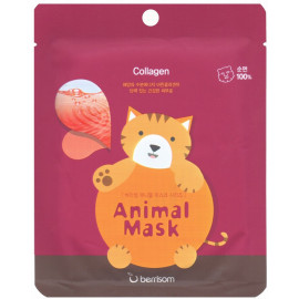 Маска тканевая baviphat с морским коллагеном Animal mask series - Cat 25мл