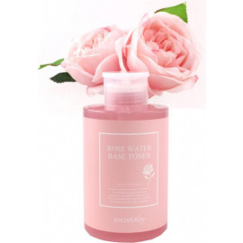 Тонер Secret Key с экстрактом розы Rose water base toner 550мл